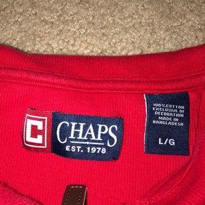 Chaps Jackets & Coats - Chaps Sweater Size Large